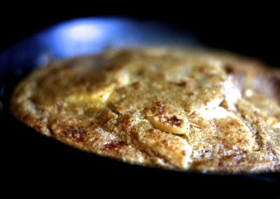 Apple Cinnamon Oven Pancake
