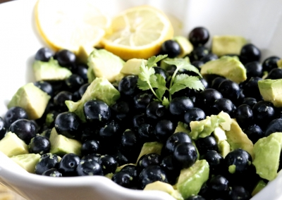 Avocado Blueberry Salad