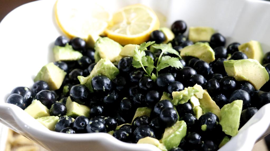 Avocado Blueberry Salad