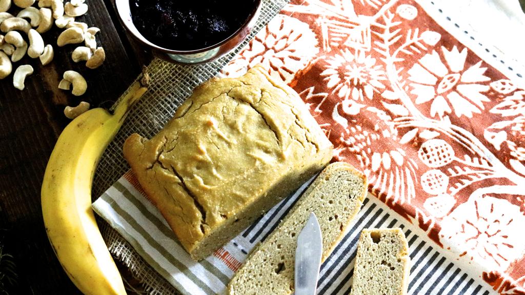 Gluten-Free Cashew Bread