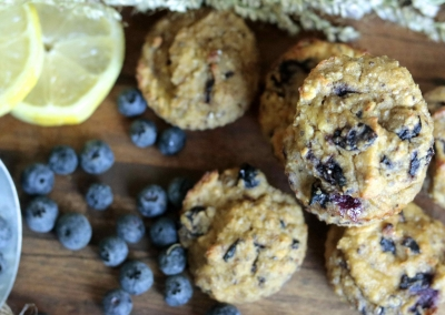 Food Babe's Blueberry Muffins