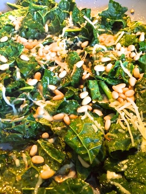 Sautéed Garlic Kale