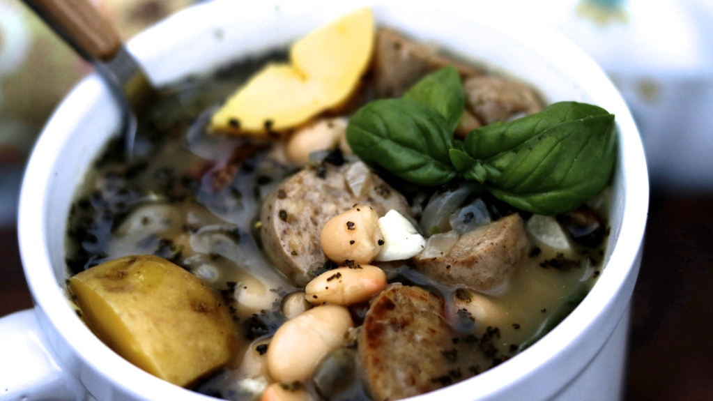 Sausage White Bean Soup
