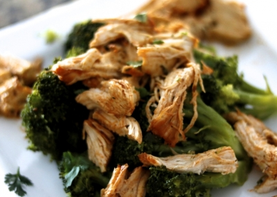 Tangy Shredded Chicken