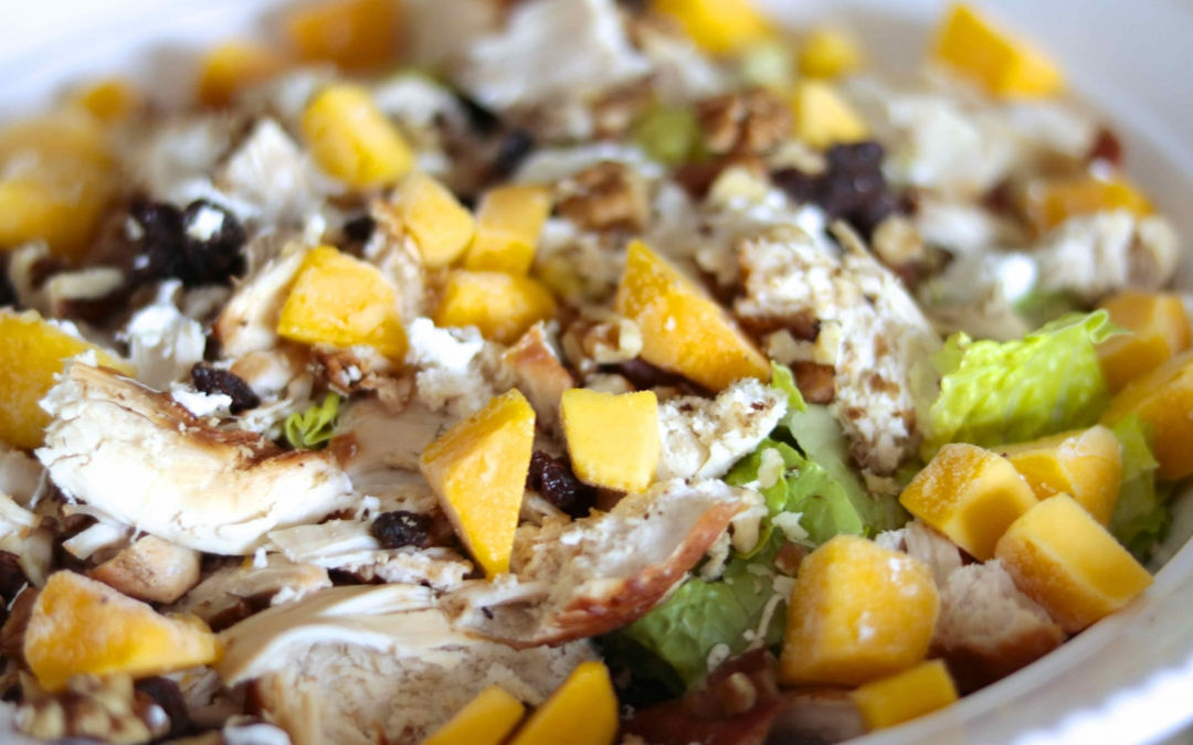 Mango Salad with Goat Cheese