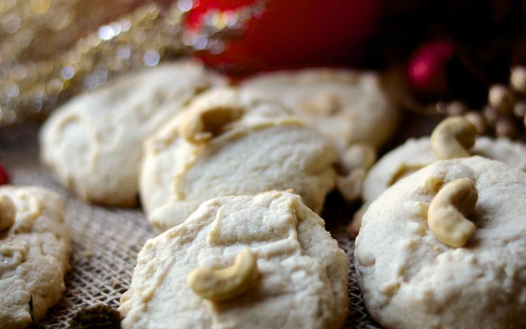 Vegan Cashew Cookies