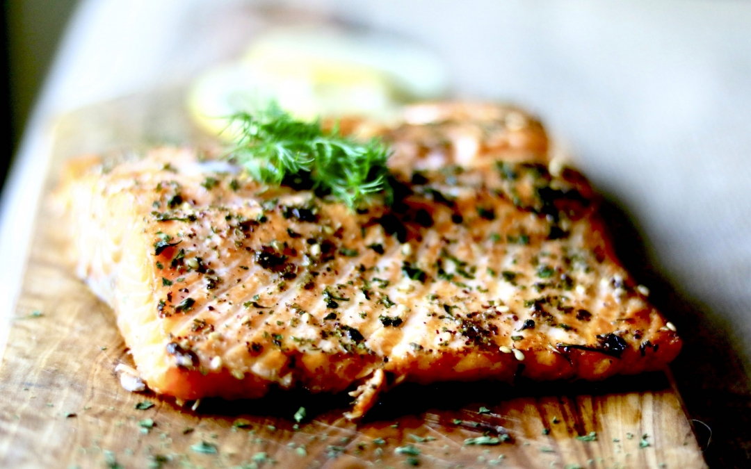 Wild Balsamic Salmon