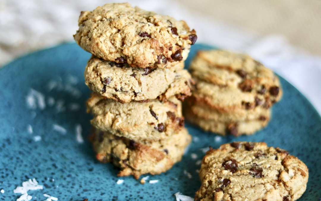 Gluten-Free Chocolate Chip Coconut Cookies