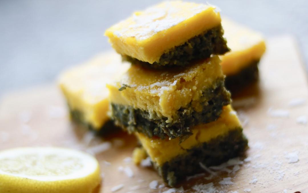 Gluten-Free Super Moist Lemon Bars