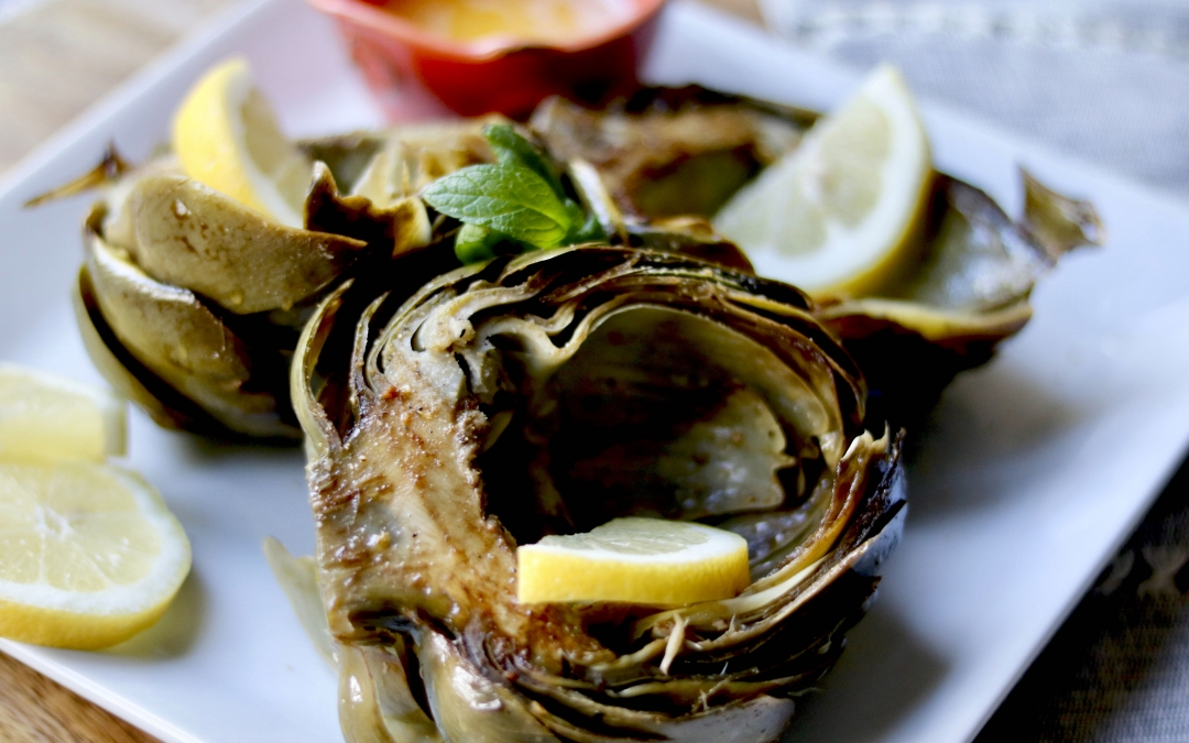 Roasted Balsamic Artichoke