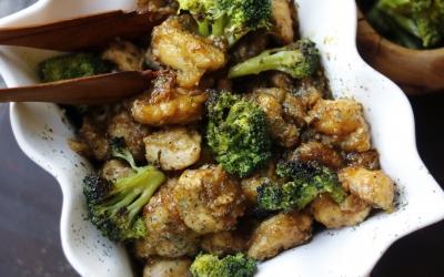 Sesame Mongolian Ginger Chicken
