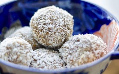 Coconut Chai Balls