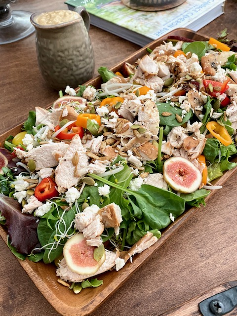Fig salad with all the Goods